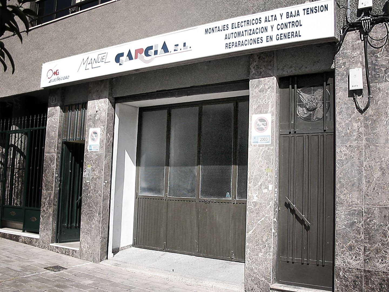 Manuel García Empresa de electricidad desde 1979